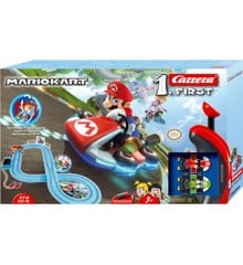 Carrera -  First Set Racerbane Sæt - Nintendo Mario Kart™ 2,9m