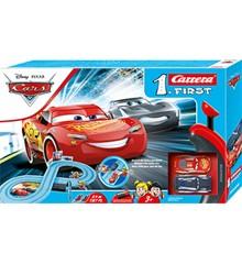 Carrera -  First Set Racerbane - Disney Pixar Biler - Power Duel