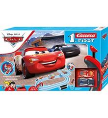 Carrera -  First Set Racerbane Sæt - Disney Pixar Biler - Piston Cup