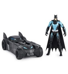 Batman - Batmobile med 30 cm Figur