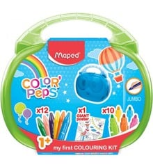 Maped - Color Peps - My First Colouring Kit - Green (897416)