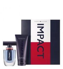 Tommy Hilfiger - Impact EDT 50 ml +  Hair & Body Wash 200 ml - Gavesæt