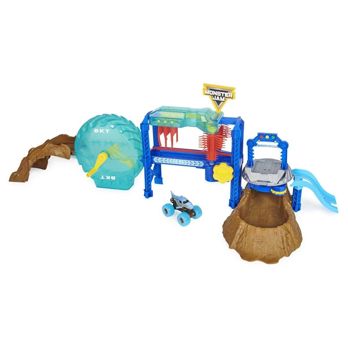 Monster Jam - 1:64 Playset - Car Wash (6060518)