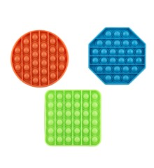 Pop It - 3 pack Silicone (23455)