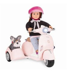 Our Generation - Scooter with Side Car (737389)