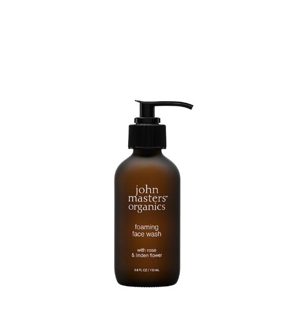 John Masters Organics - Foaming Face Wash w. Rose & Linden Flower 112 ml
