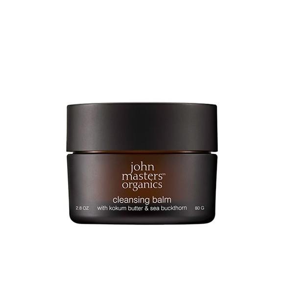 John Masters Organics - Cleansing Balm w. Kokum Butter & Sea Buckthorn 80 g
