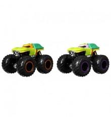 Hot Wheels - Monster Trucks 1:64 - Michelangelo vs. Donatello (GTJ53)