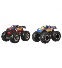 Hot Wheels - Monster Trucks 1:64 - Hot Wheels 4 vs. Hot Wheels 1 (GTJ50)
