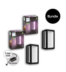 Philips Hue - 2xImpress Wall Light Hue Outdoor - Bundle