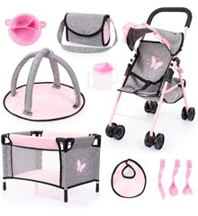 Bayer - Buggy Set with Butterflies (21533AB)