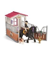 Schleich - Horse Box with Horse Club Tori & Princess (42437)