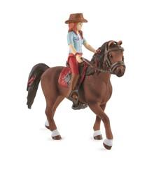 Schleich - Horse Club Hannah and Cayenne (42539)