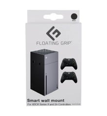 Floating Grip Xbox Series X wall mount Bundle Black