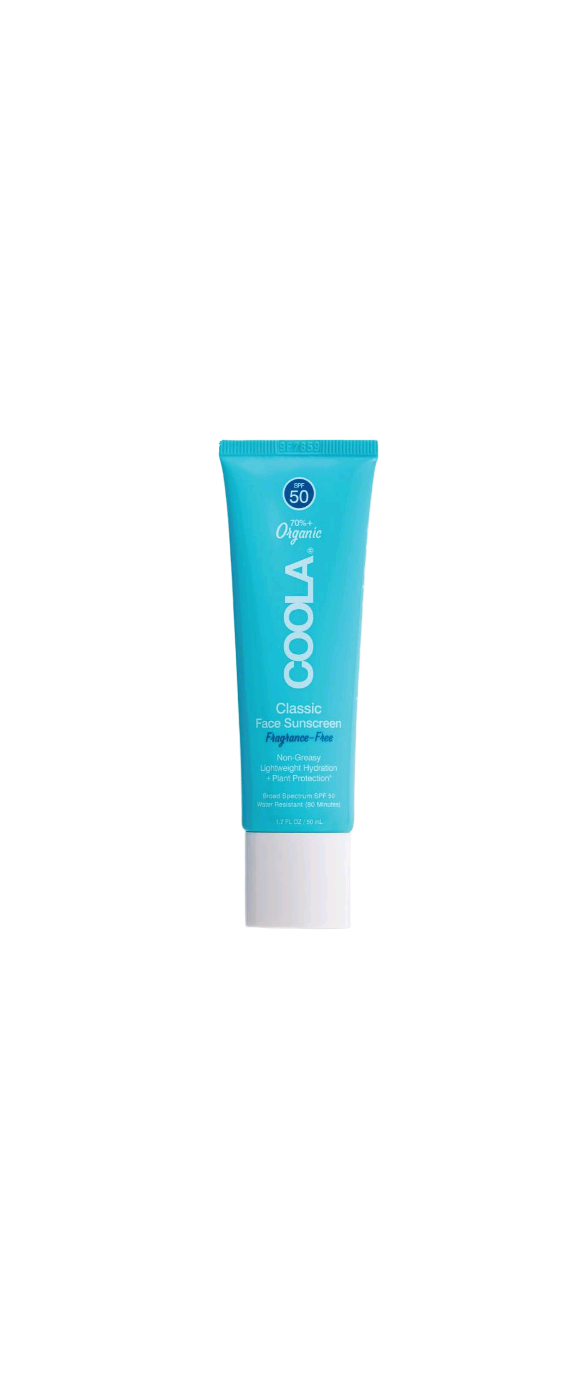 Coola - Classic Ansigts Lotion Solcreme Duftfri SPF 50 - 50 ml
