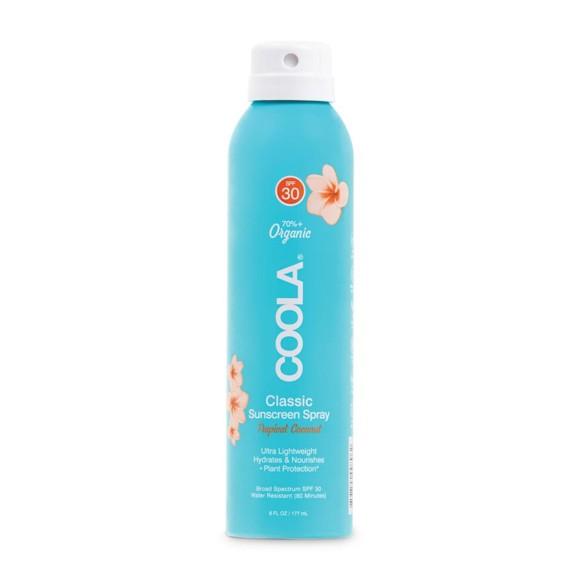 Coola - Classic Body Spray Sunscreen Tropical Coconut SPF 30 - 177 ml