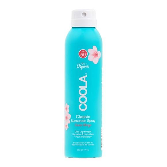 Coola - Classic Body Spray Sunscreen Guava Mango SPF 50 - 177 ml