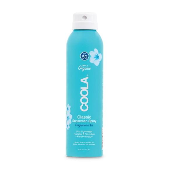 Coola - Classic Body Spray Fragrance-Free SPF 50 - 177 ml