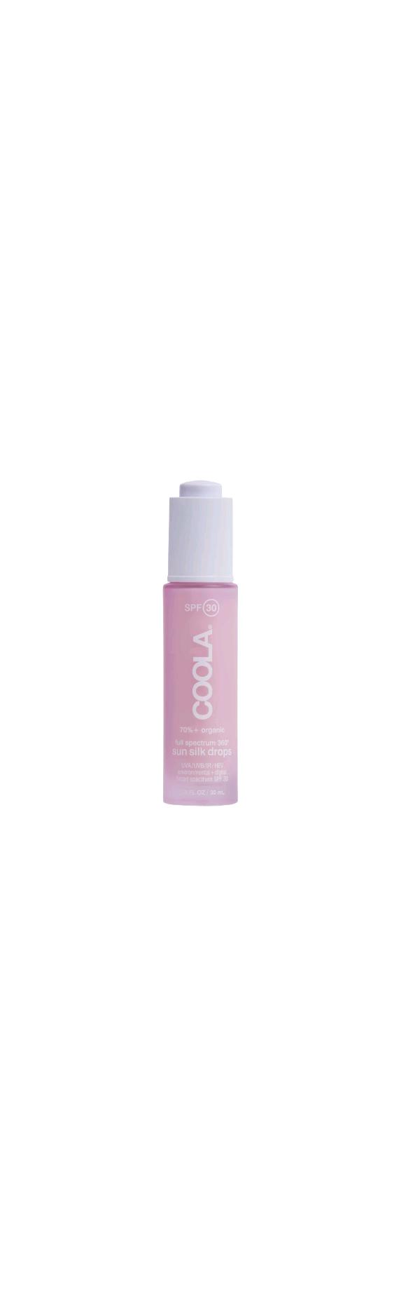 Coola - Classic Full Spectrum Sun Silk Drops Face Sunscreen SPF 30 - 30 ml