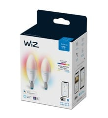WIZ - Candle C37 E14 2Pack Color