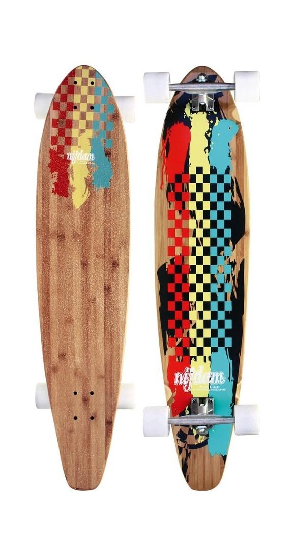 Longboard - bamboo, maple & aluminum, 105 cm (26888)