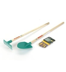 Klein - Bosch - Garden set with Shovel, rake & gloves, 85 cm (KL2712)