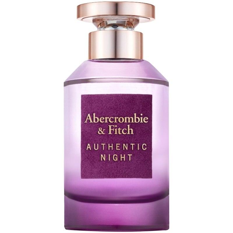 Bilde av Abercrombie & Fitch - Authentic Night Woman Edp 100 Ml