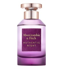Abercrombie & Fitch - Authentic Night Woman EDP 100 ml