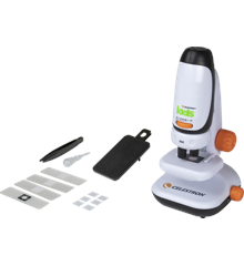 Celestron - Kids Microscope with Phone Adapter