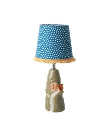 Rice - Ceramic Lamp with Squirrel - Lampshade incl - Small