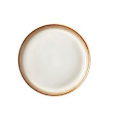BITZ - 2 x Gastro Plate Dia. 17 x 2,0 cm - Creme