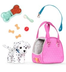 Our Generation - Dalmatian Pup with bag and accessories (735181)