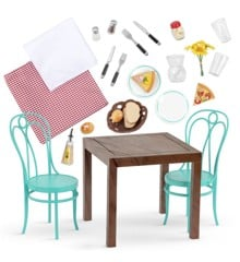 Our Generation - Pizza With You - Dining Table & Chairs (735136)