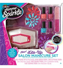 Shimmer 'n Sparkle  - Lite Up Salon - Manicure Sæt