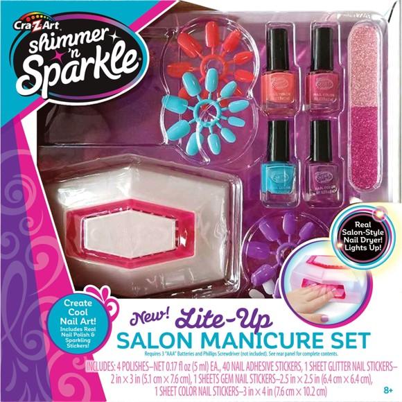 Shimmer 'n Sparkle  - Lite Up Salon - Manicure Set (40-00028)