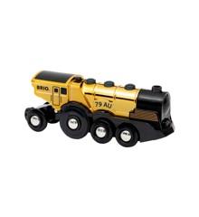 BRIO - Gold action locomotive (33630)