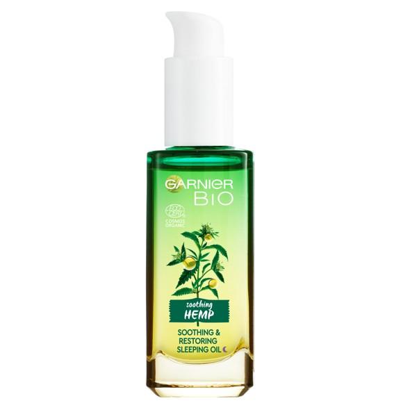 Garnier - Soothing Hemp Sleeping Oil 30 ml