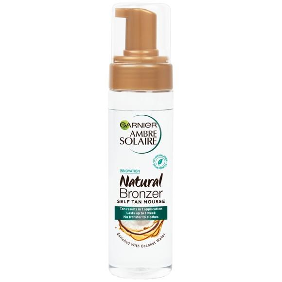 Garnier - Natural Bronzer Mousse 200 ml