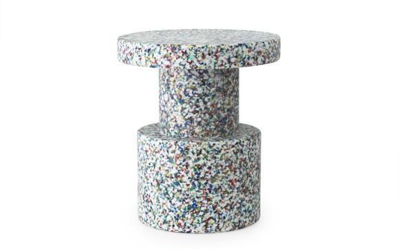 Normann Copenhagen - Bit Table / Stool - White Multi (603007)