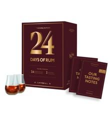 Rom Kalender - 24 Days Of Rum 2021 inkl. Glas