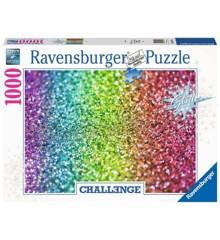 Ravensburger - Puzzle 1000 - Challenge Glitter (10216745)