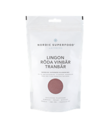 Nordic Superfood - Berry Powder Mix Red - Lingonberry, Cranberry, Red Currant 80 g