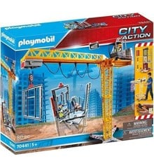 Playmobil - Crane (70441) (Broken Box)