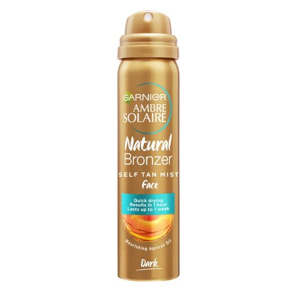 Garnier - Natural Bronzer Self Tan Mist Face 75 ml