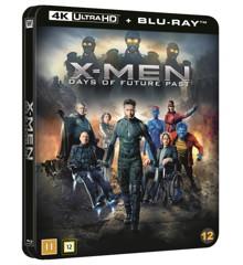 X-Men Days Of Future Past - Blu Ray+Uhd 4K- Steelbook