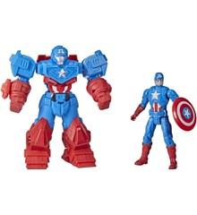 Marvel Avengers - Mech Strike 15cm - Captain America Ultimate Mech Suit (F1669)