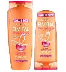 L'Oréal - Elvital Dream Lenght Shampoo 700 ml + Conditoner 400 ml