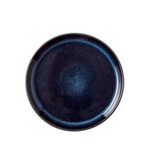 BITZ - 2 x Gastro Plate Dia. 17 x 2,0 cm - Black/Dark Blue (1175593)