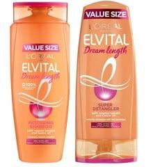 L'Oréal - Elvital Dream Lenght Shampoo 700 ml + Conditioner 700 ml