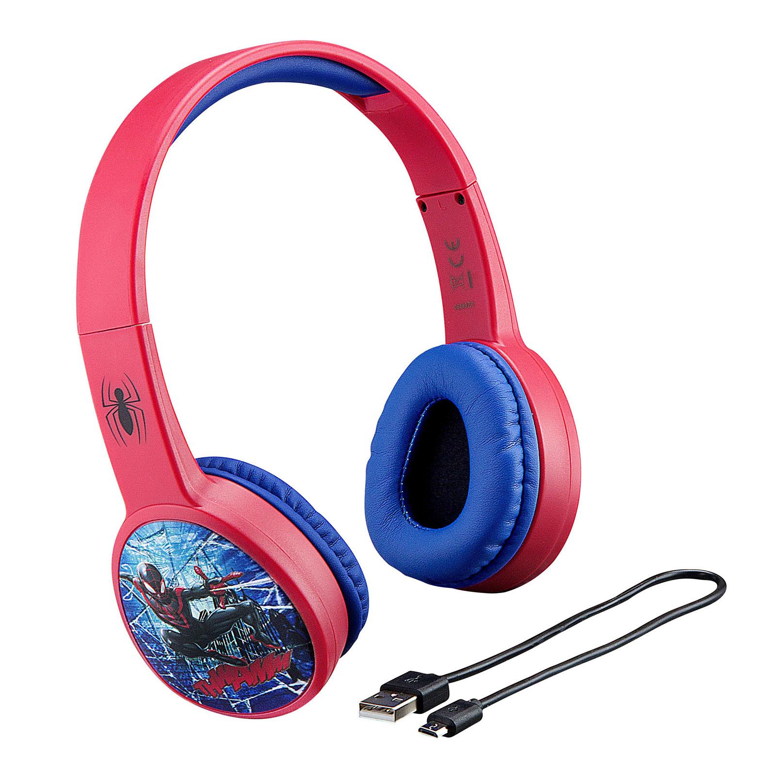 Billede af eKids - Spiderman - Trådløse høretelefoner Bluetooth (10252345)